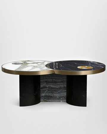 SUN AND MOON COFFEE TABLE