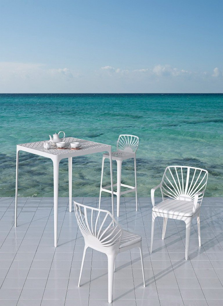 SUNRISE Chair by L+R Palomba for Driade