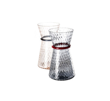 TIARA Glass Vases by Francesco Lucchese for Venini