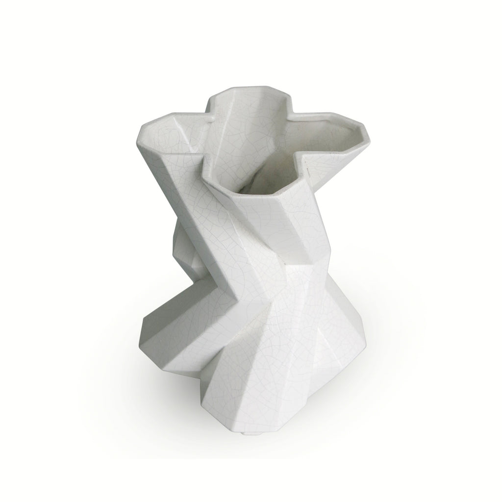 FORTRESS CASTLE WHITE VASE by Lara Bohinc - DUPLEX DESIGN