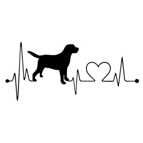 Labrador Love Decal
