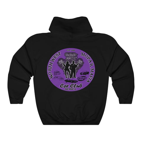 NW Mopar Mafia Member(Purple)™ Hooded Sweatshirt