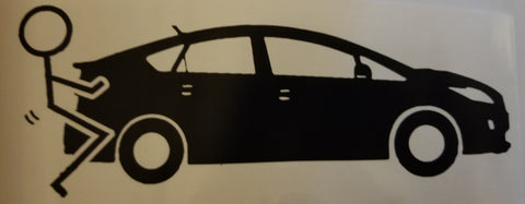 F Prius Decal