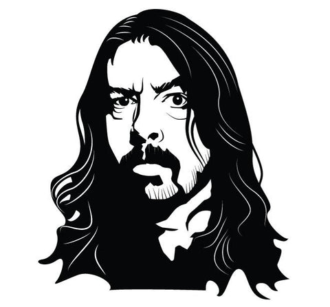 Dave Grohl Decal