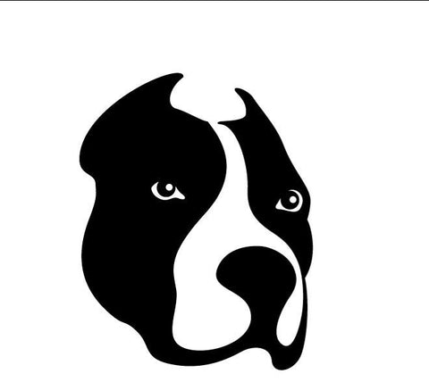Dog Face Decal