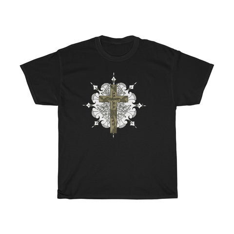 Cross Design Tee