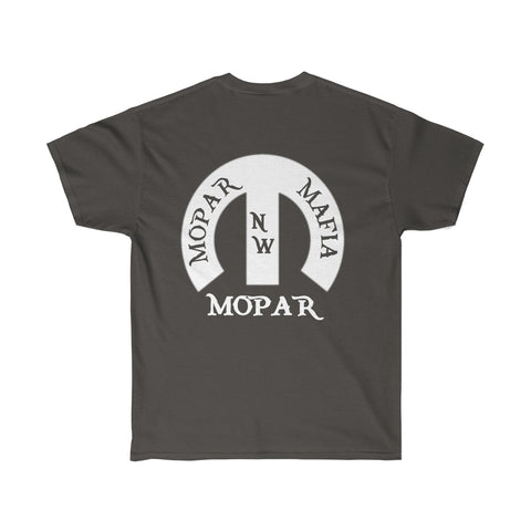 NW Mopar Mafia with white M T-shirt
