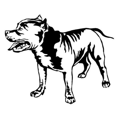 American Staffordshire Decal