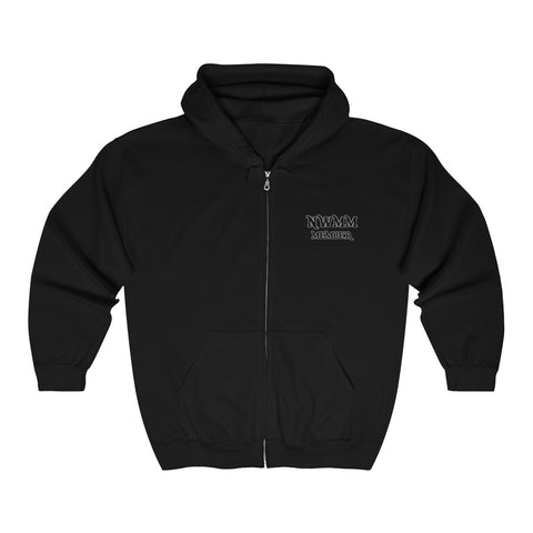 NW Mopar Mafia(Dark Red)™ Full Zip Hooded Sweatshirt