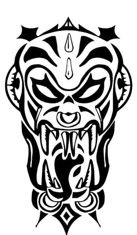 Tribal Vampire Decal