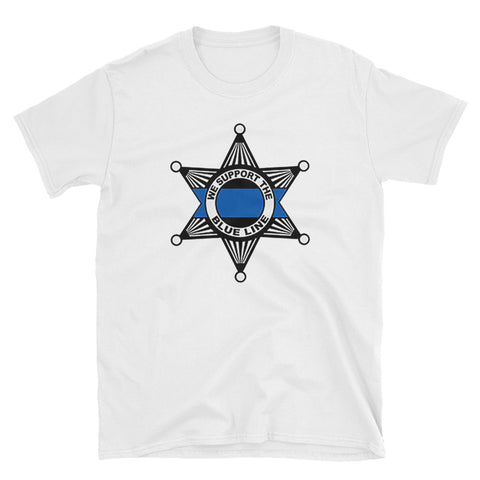 Support Thin Blue Line T-shirt