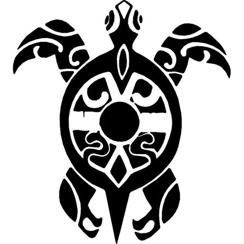 Tribal Turtle Decal