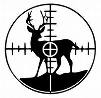 Deer Hunter Decal