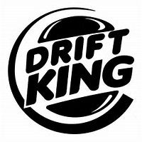 Drift King decal