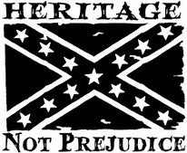 Heritage flag decal