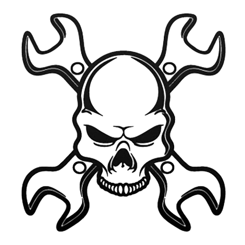 Wrench head decal
