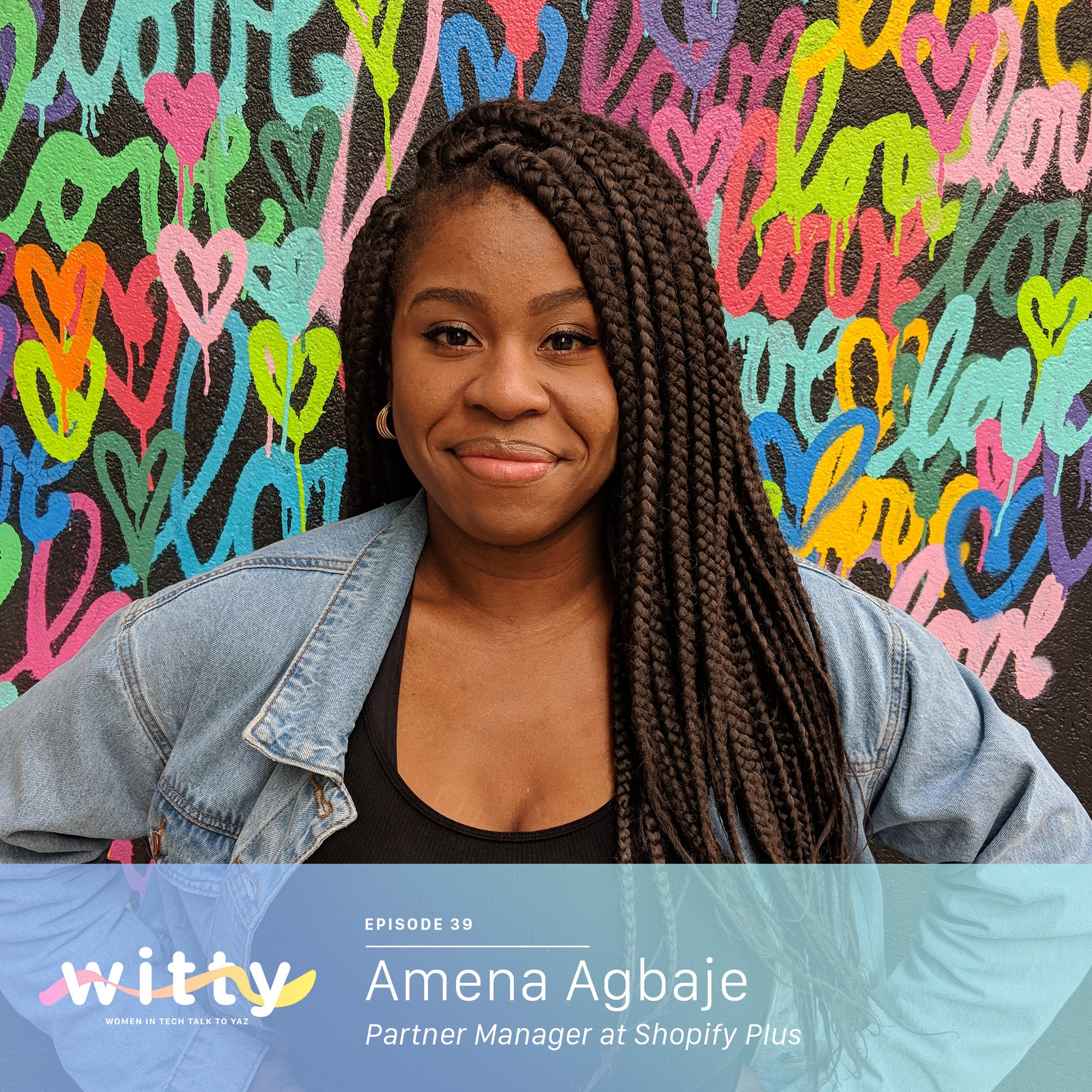 Ep. 39: Just trying not to give birth on stage (Amena Agbaje)