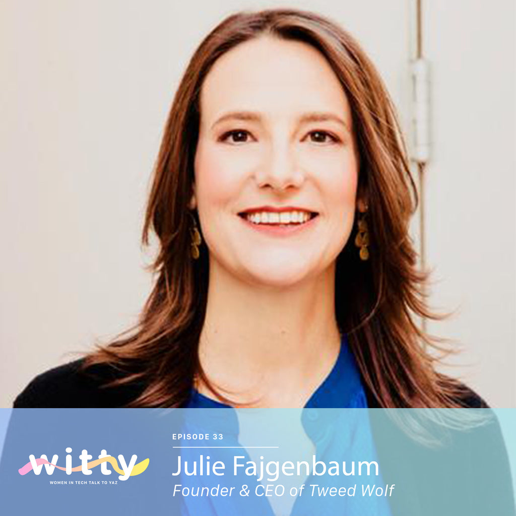 Ep. 33: Both the CEO and the Chief Dishwasher (Julie Fajgenbaum)