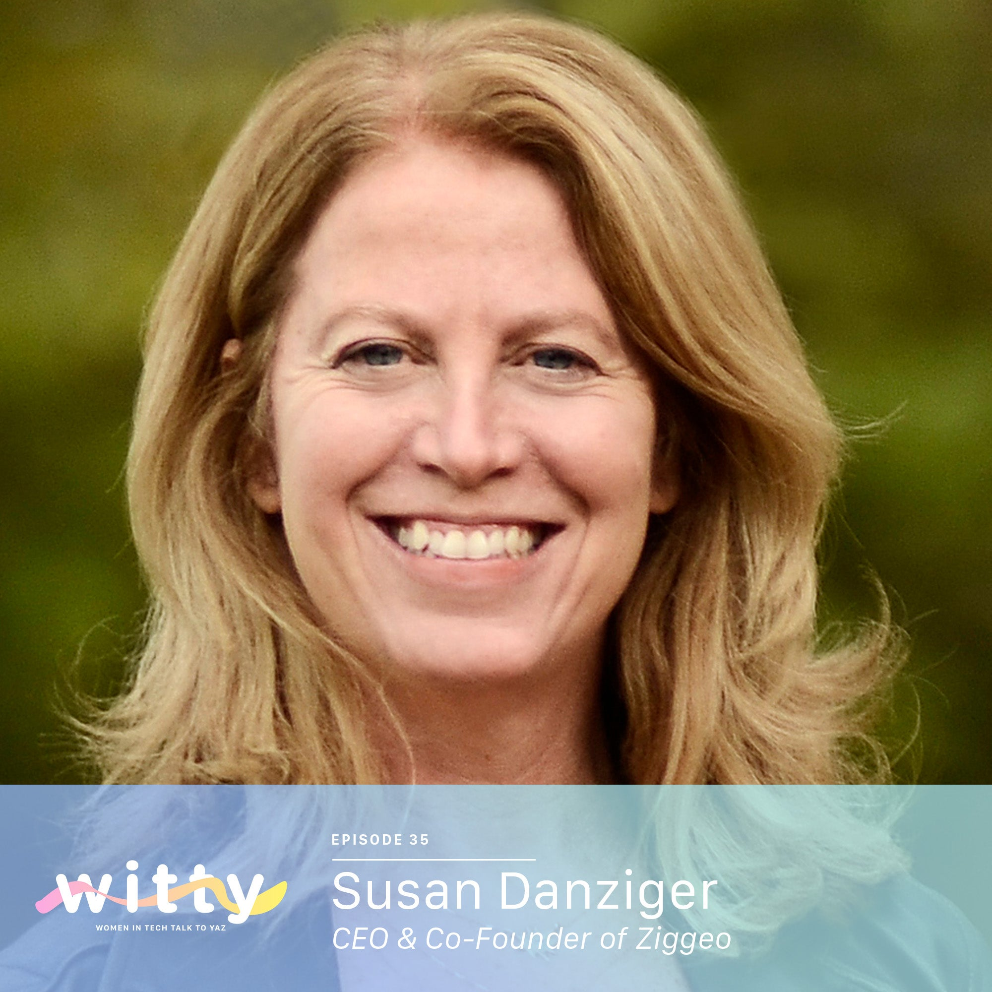 Ep. 35: Two more lines of code and you get dinner (Susan Danziger)