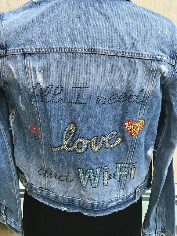 ALL I NEED IS LOVE & WIFI - younican