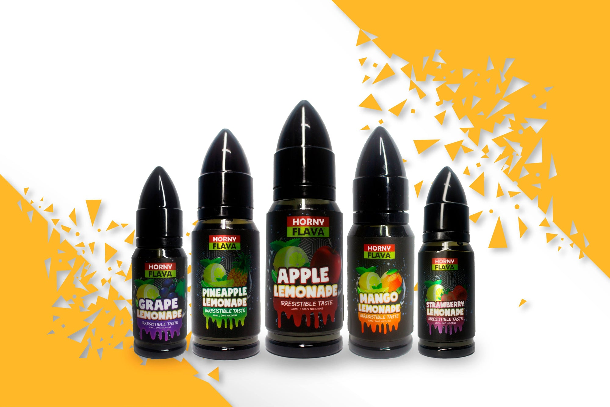 Horny Flava Lemonade Series - (Vape Orb Malaysia Online Vape E Juice and E Liquid Store)