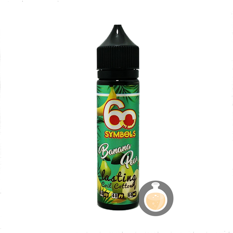 60 Symbols - Banana Pear (Buy Vape E Juice , Wholesale E Liquid Website , Malaysia Vapor Distributor Store) Shop Now - Vape Orb