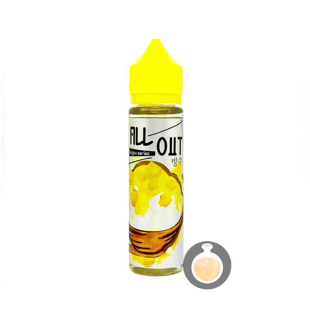(All Out - Bingsu Series Mango Vape E-Juices & E-Liquids)