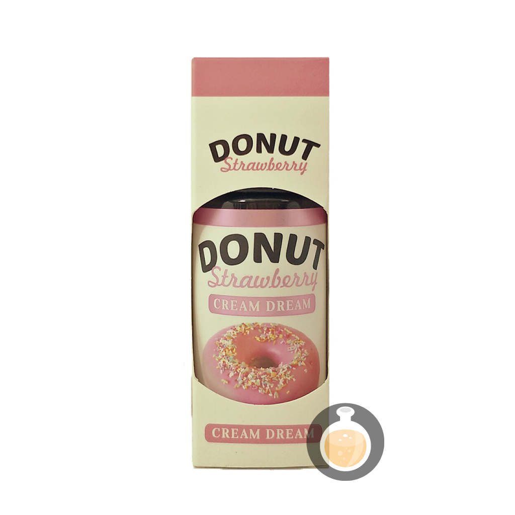 (Cream Dream - Donut Strawberry Vape E-Juices & E-Liquids)