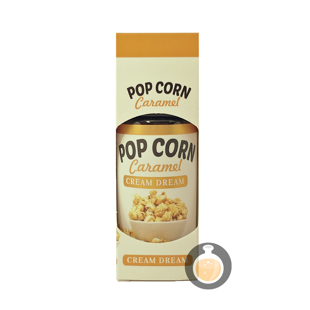 (Cream Dream - Pop Corn Caramel Vape E-Juices & E-Liquids)