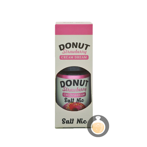 Cream Dream - Salt Donut Strawberry (Buy Vape E Juice | Wholesale E Liquid Website | Malaysia Vapor Distributor Store) Shop Now - Vape Orb