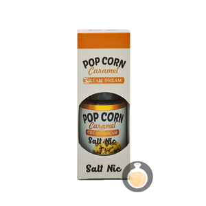 Cream Dream - Salt Pop Corn Caramel (Buy Vape E Juice | Wholesale E Liquid Website | Malaysia Vapor Distributor Store) Shop Now - Vape Orb