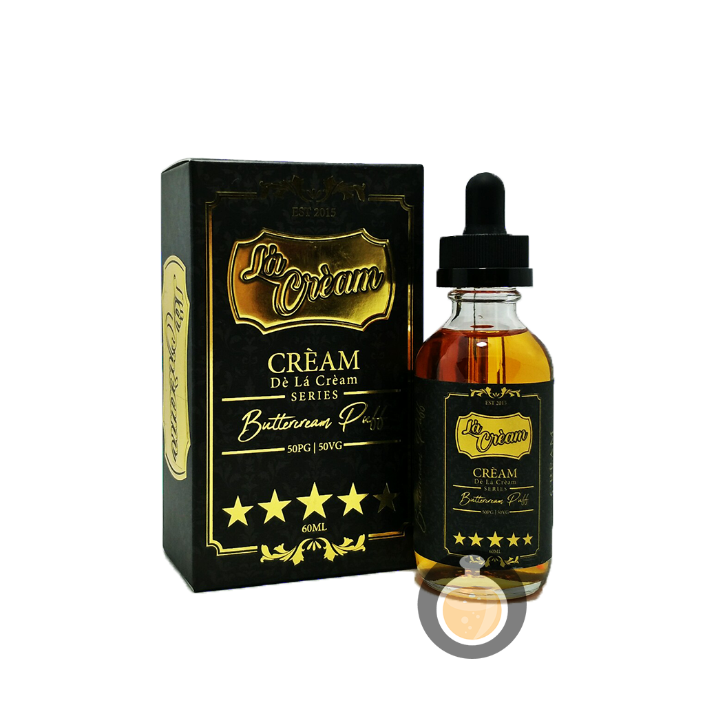 (De La Cream Series - Buttercream Puff Vape E-Juices & E-Liquids)