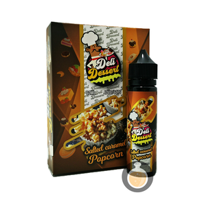 Deli Dessert - Salted Caramel Popcorn (Buy Vape E Juice , Wholesale E Liquid Website , Malaysia Vapor Distributor Store) Shop Now - Vape Orb