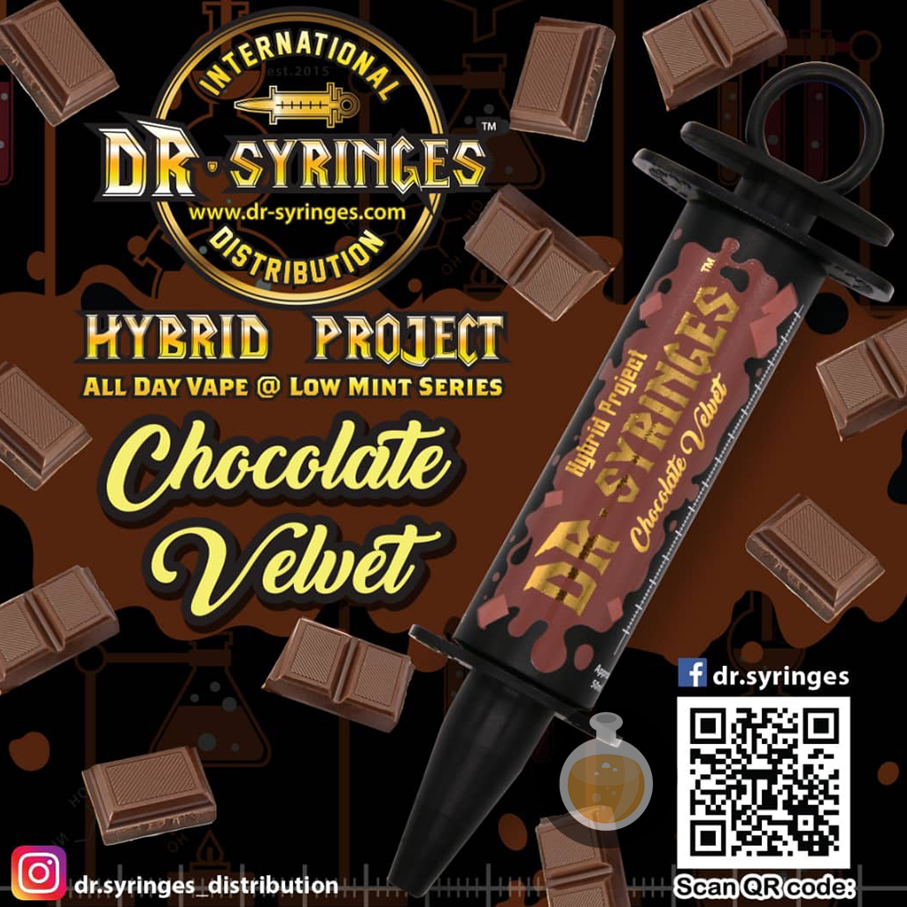 (Dr Syringes - Chocolate Velvet Vape E-Juices & E-Liquids)