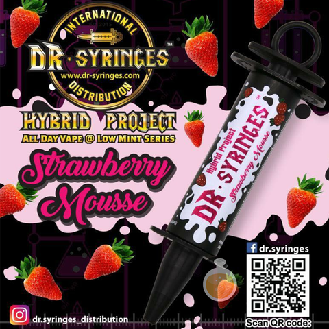 Dr Syringes - Strawberry Mousse (Buy Vape E Juice , Wholesale E Liquid Website , Malaysia Vapor Distributor Store) Shop Now - Vape Orb
