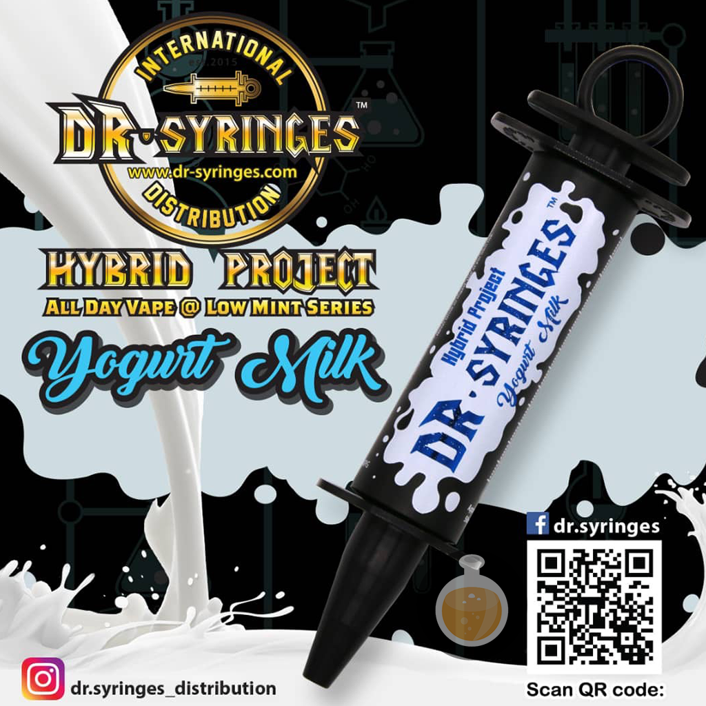 Dr Syringes - Yogurt Milk (Buy Vape E Juice , Wholesale E Liquid Website , Malaysia Vapor Distributor Store) Shop Now - Vape Orb
