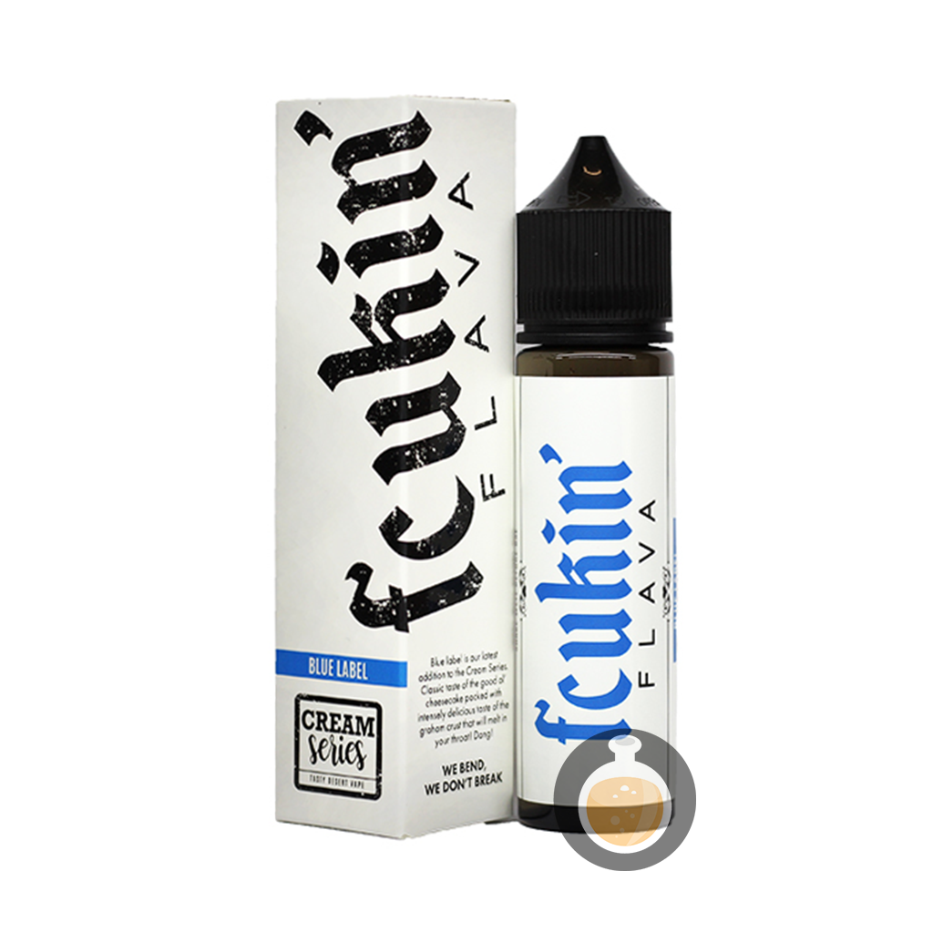 (Fcukin' Flava Creamy Series - Blue Label Vape E-Juices & E-Liquids)