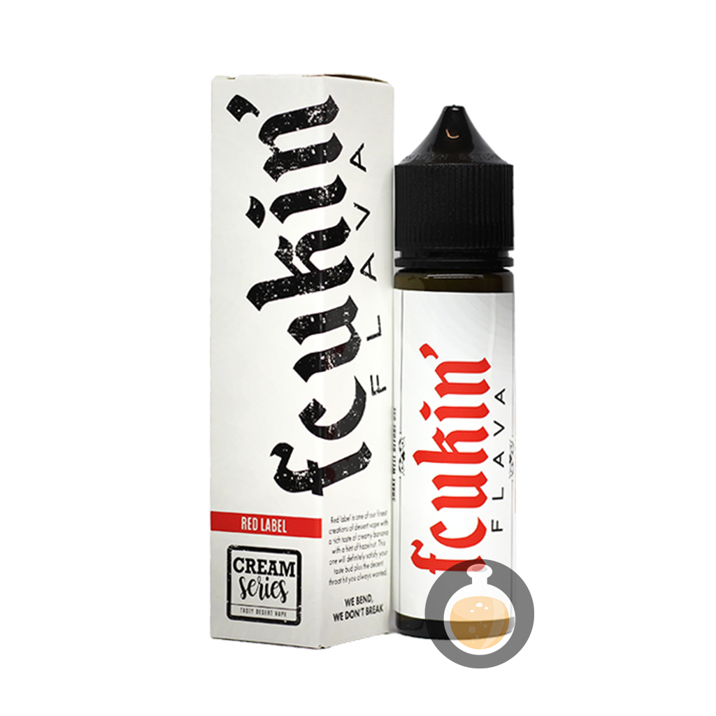 (Fcukin' Flava Creamy Series - Red Label Vape E-Juices & E-Liquids)