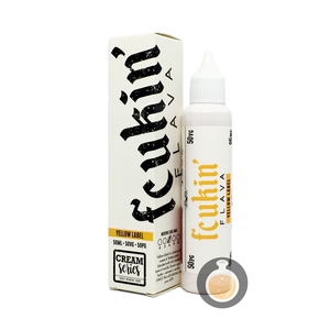 Fcukin' Flava Creamy Series - Yellow Label (Buy Vape E Juice , Wholesale E Liquid Website , Malaysia Vapor Distributor Store) Shop Now - Vape Orb