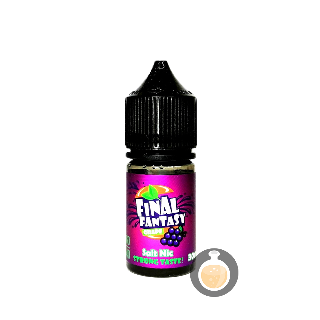 (Final Fantasy - Grape Salt Nic Vape E-Juices & E-Liquids)