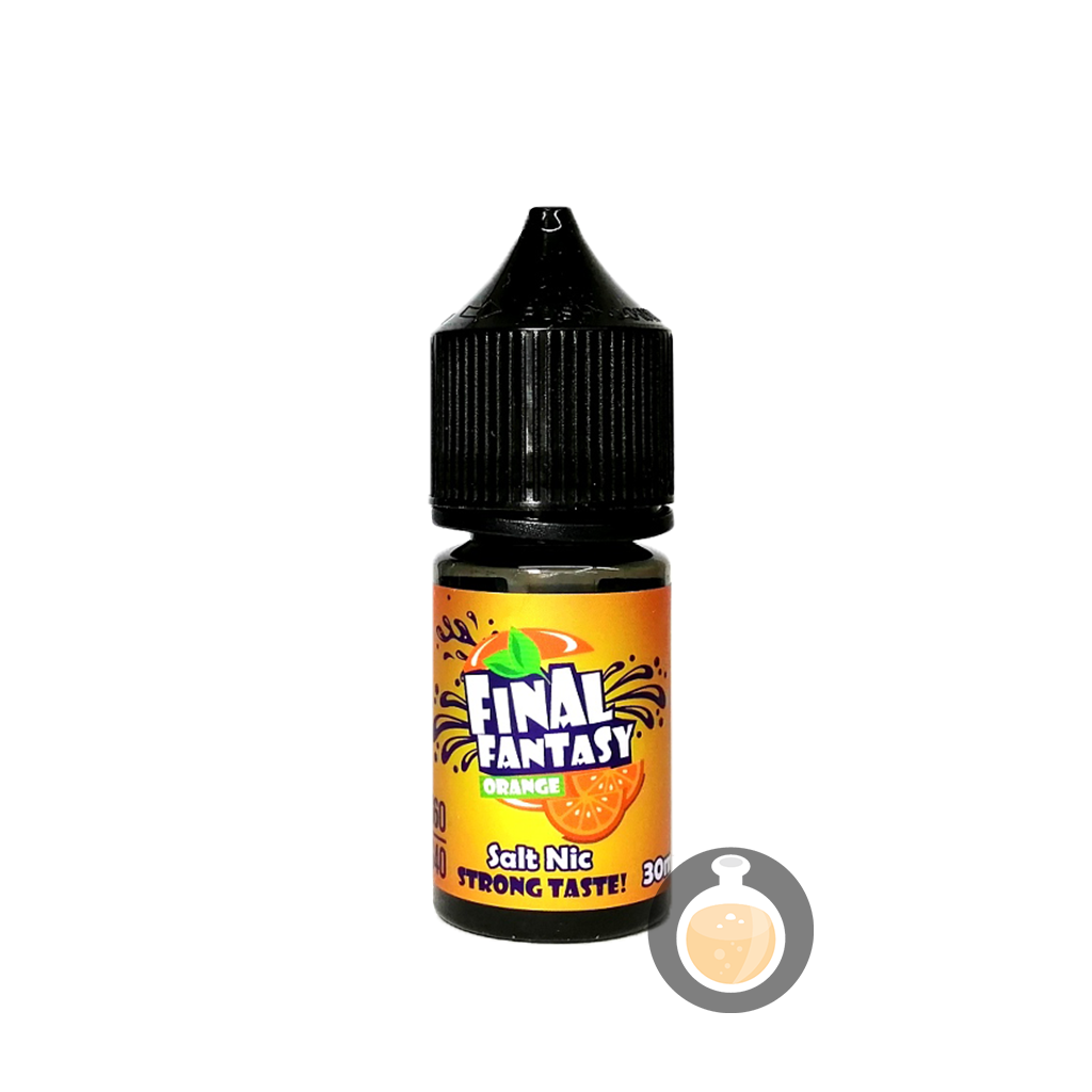 (Final Fantasy - Orange Salt Nic Vape E-Juices & E-Liquids)