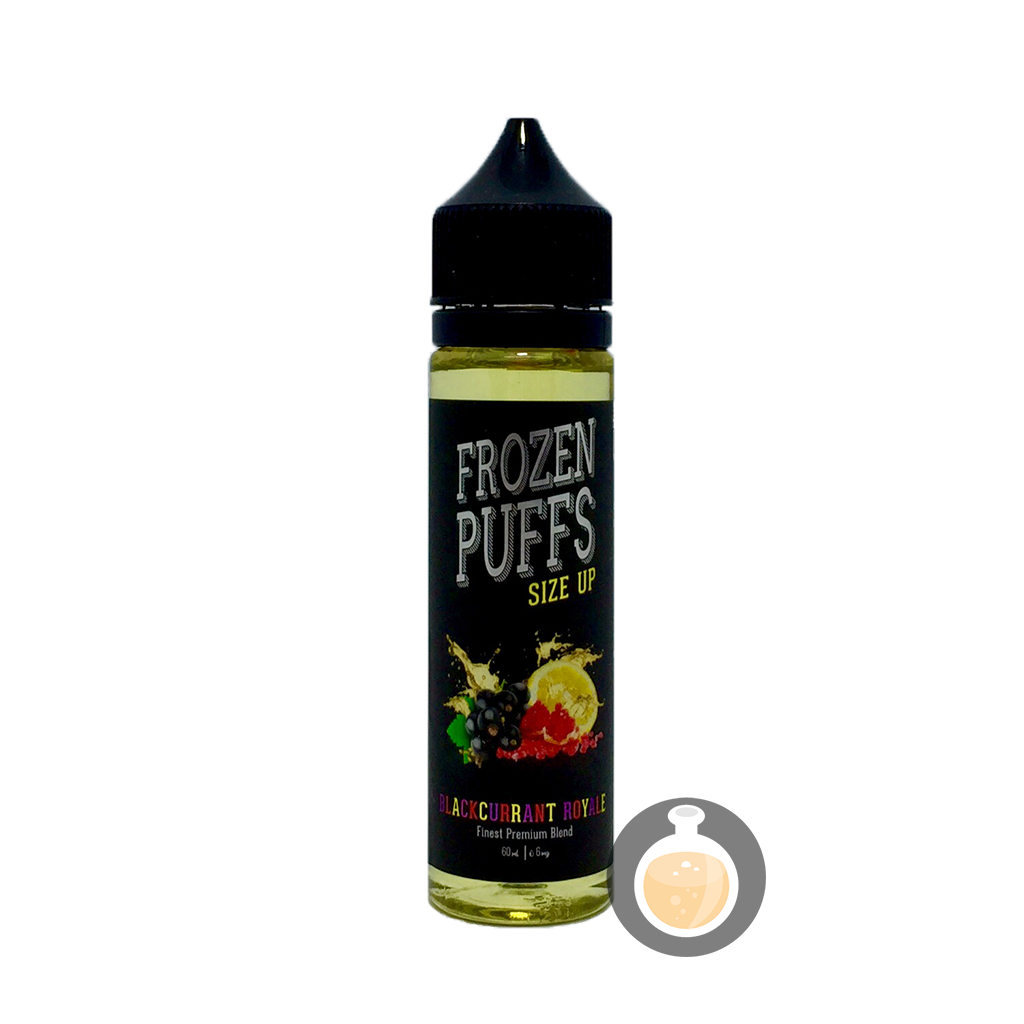 (Frozen Puffs - Size Up Blackcurrant Royale Vape E-Juices & E-Liquids)