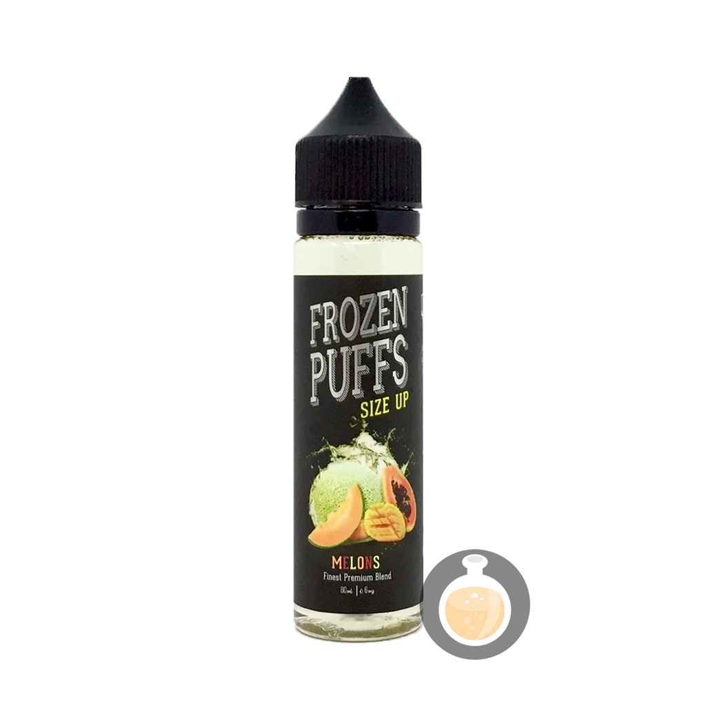 (Frozen Puffs - Size Up Melon Vape E-Juices & E-Liquids)