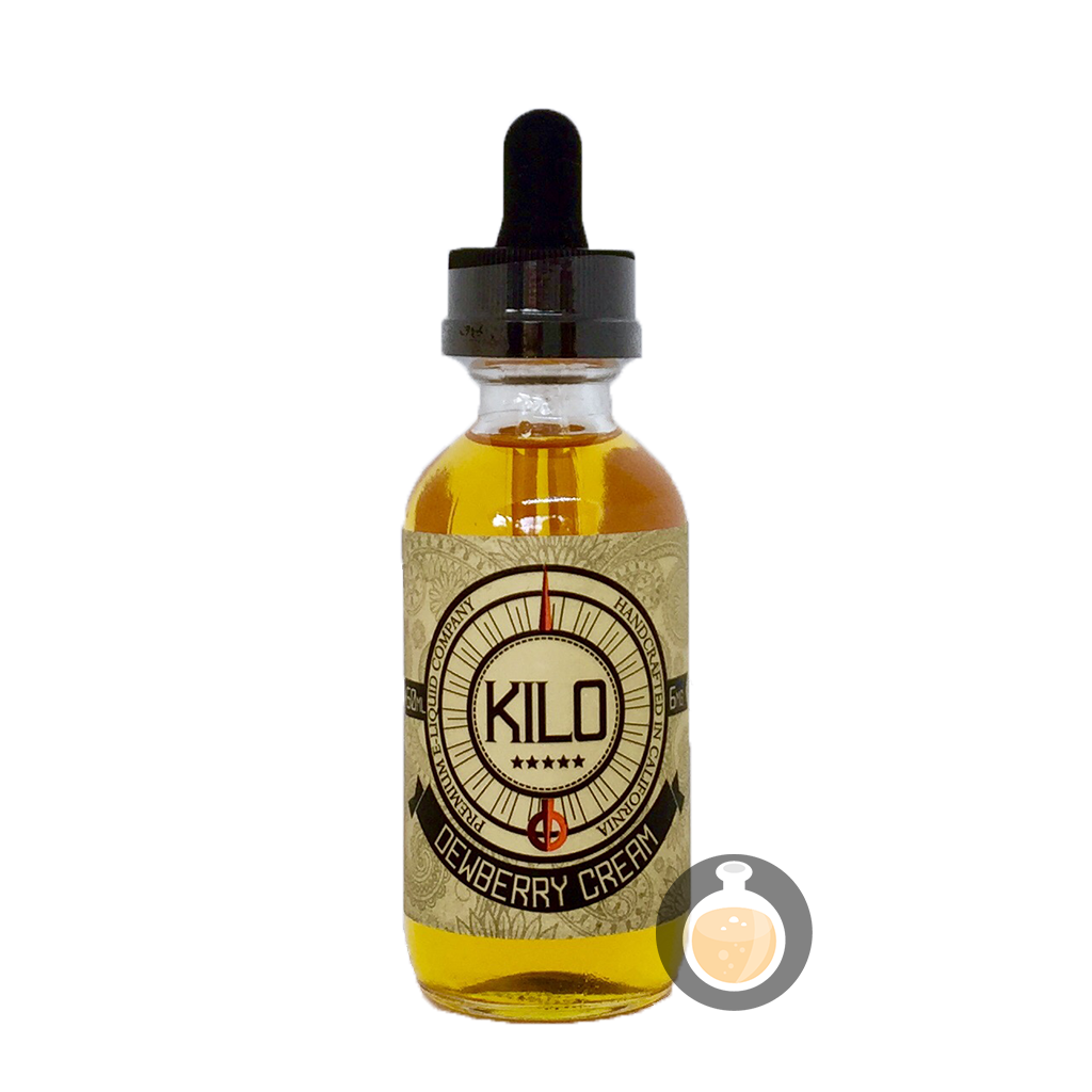 (Kilo E-Liquids - Dewberry Cream Vape E-Juices & E-Liquids)
