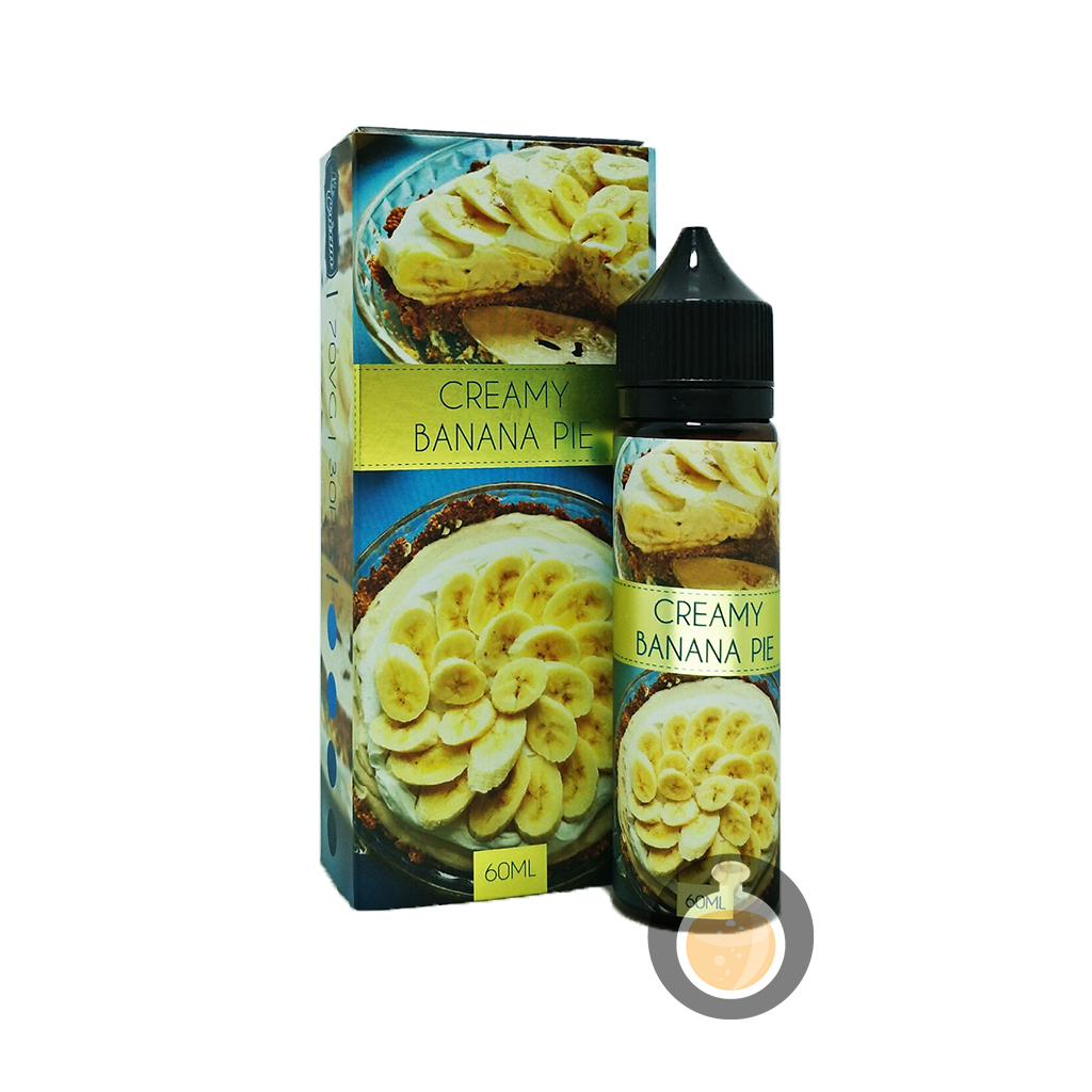 (La Cream - Creamy Banana Pie Vape E-Juices & E-Liquids)
