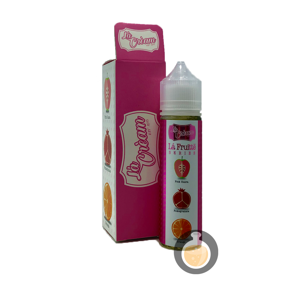 (La Cream - La Fruitte Series Hawaiian Punch No Mint Vape E-Juices & E-Liquids)