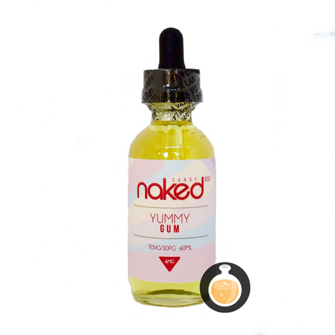 Naked 100 - Yummy Gum (Buy Vape E Juice , Wholesale E Liquid Website , Malaysia Vapor Distributor Store) Shop Now - Vape Orb