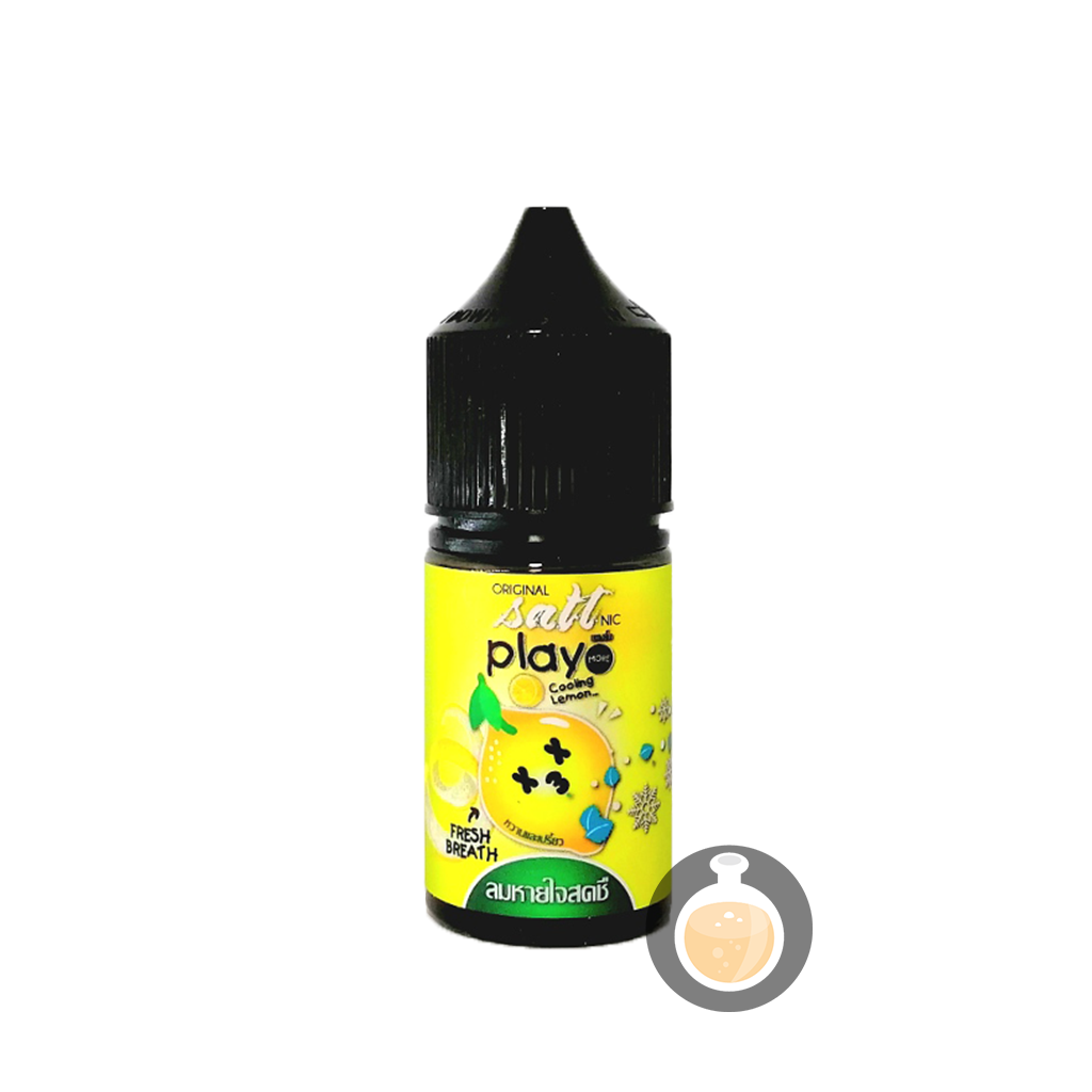 (Play More - Salt Nic Cooling Lemon Vape E-Juices & E-Liquids)