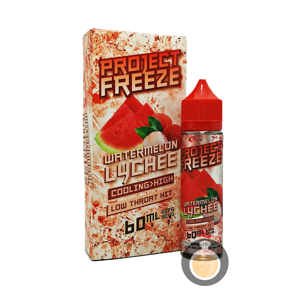 (Project Freeze - Watermelon Lychee Vape E-Juices & E-Liquids)