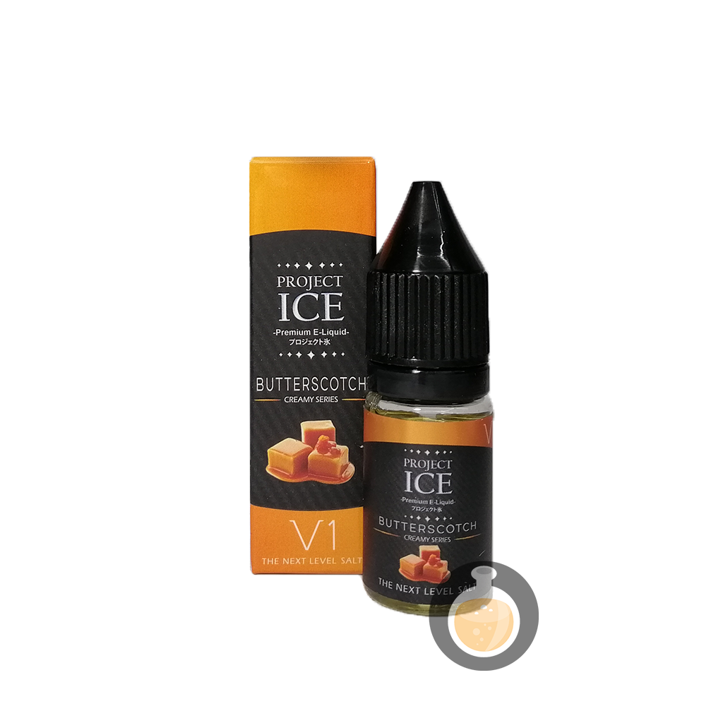 Project Ice Creamy Series - Butterscotch Salt Nic Vape E-Juices & E-Liquids)